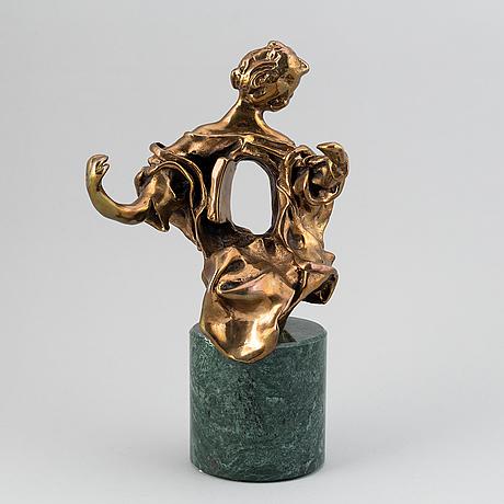 Salvador dalí, skulptur, brons, 69/75 ap. stämpelsignerad dali.