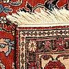 A semiantique kirman carpet ca 318 x 204 cm.