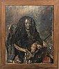 Thomas knarvik, oil on canvas signed.