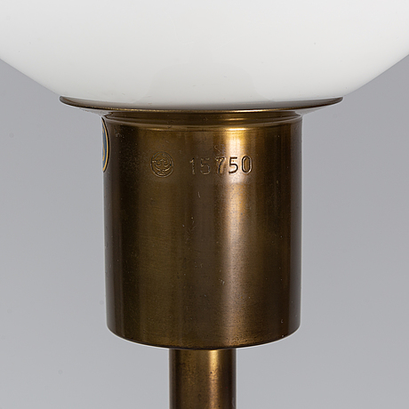 A floor lamp by böhlmarks from the second half of the 20th century.