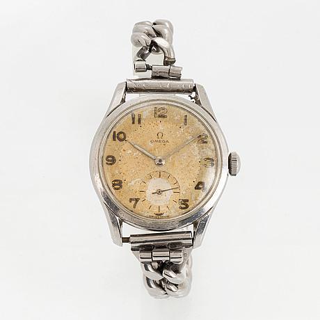 Omega, armbandsur, 36 mm.