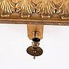 A swedish empire girandole mirror, first half of the 19th century.