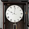 Wall clock, late 19th-century.