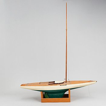 A model ship, mid 20th Century.