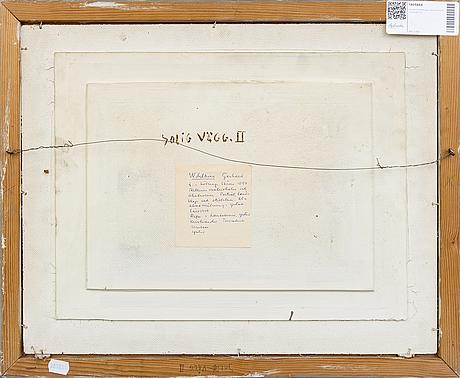 Gerhard wihlborg, oil on panel signed.