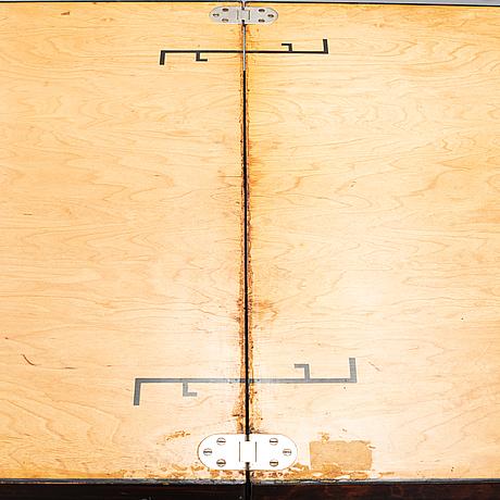 Otto wretling, a 'idealbordet' birch table, umeå, 1930's.