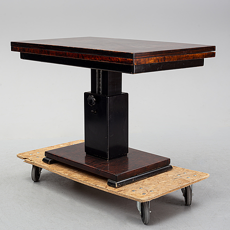 Otto wretling, a 'idealbordet' birch table, umeå, 1930's.