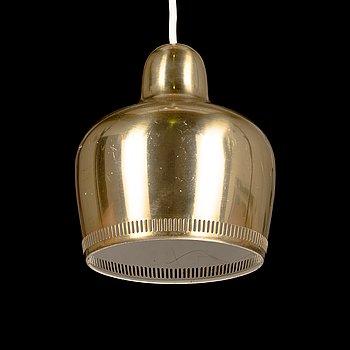 Alvar Aalto, a 'Golden bell' pendant light for Louis Poulsen & Co a/s Denmark.