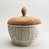 A large vietnamese jar, 18th/19th century.