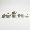 A group of pale celdaon glazed ceramics, presumably yuan dynasty.