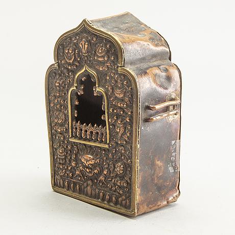 A tibetan travel shrine, early 20th century.