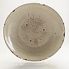 A large cream ware dish, south east asia, 18th/19th century.