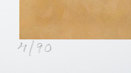 Karin broos, giclée, signerat 4/90.