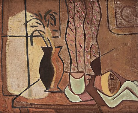 """Francisco borès, """"lumière sur la table""""."""