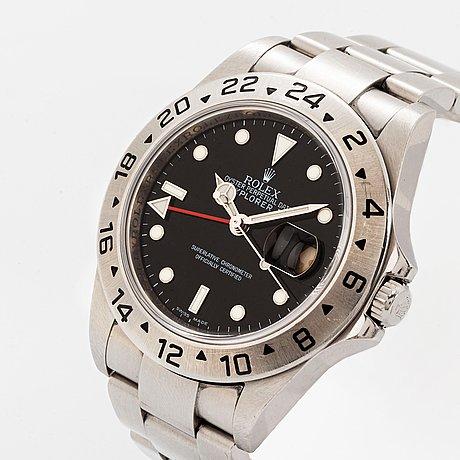 "Rolex, explorer ii, ""3186-movement""."