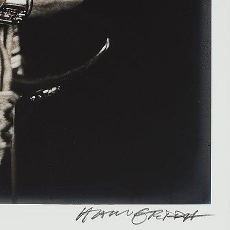 """Hans gedda, """"kung carl xvi gustafs hand"""", 1996."""