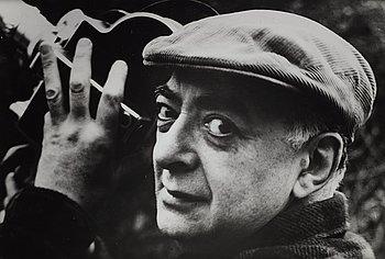 207. Brassaï, Untitled (self portrait), ca 1955.