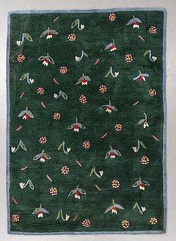 "Gunilla Lagerhem Ullberg, a carpet, ""Summerdream"", hand tufted, ca 234,5 x 166 cm, Kasthall."