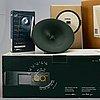 Philippe starck collection, 11 dlr radio och klocka.