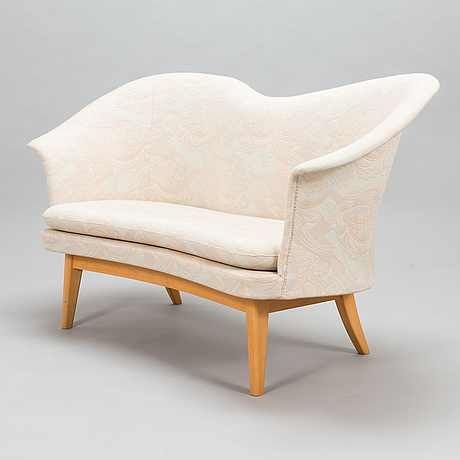 Olof ottelin, a 1950's 'duetto' sofa for kervo snickerifabrik, stockmann.