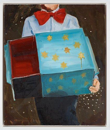"Anna bjerger, ""magic box""."