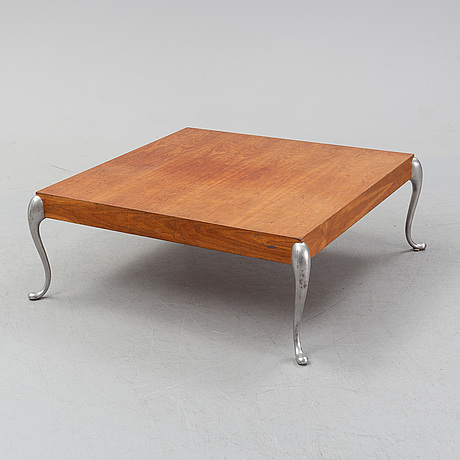 A cherry wood coffee table by morten voss, designed 1994.