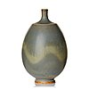 Berndt friberg, a stoneware vase, gustavsberg studio, sweden 1976.