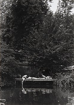 Willy Ronis, photograph signed.