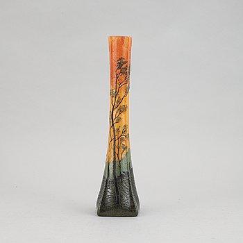 Legras & Cie, vas, glas, Art Nouveau. Saint-Denis, Frankrike.