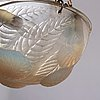 "René lalique, an opalescent ""dahlias"" cast glass ceiling light, france 1920's-30's."
