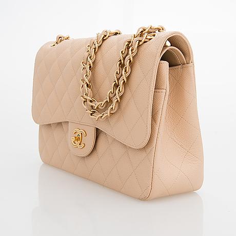 """Chanel, """"jumbo double flap bag"""" 2013-2014."""