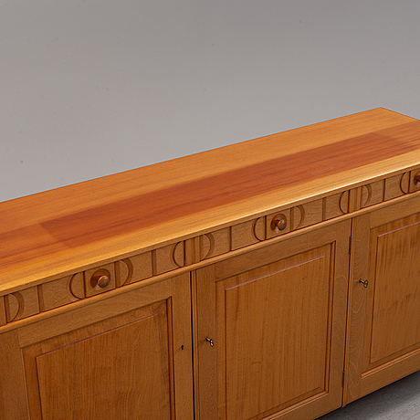 Carl malmsten, a 'calmare nyckel' walnut sideboard.