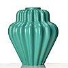 Ewald dahlskog, two faience vases, bo fajans 1930's.