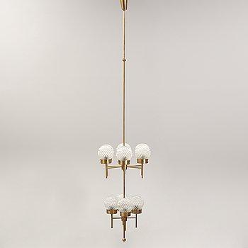 Hans-Agne Jakobsson, a brass chandelier, Markaryd, Sweden.
