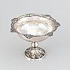 A swedish silver bowl, mark of  jp forsberg, luleå 1883.