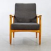 Fritz hansen, an oak armchair denmark later part of the 20th century.