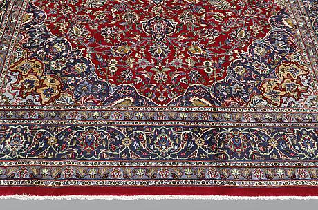 A carpet, mashad, ca 350 x 250 cm.