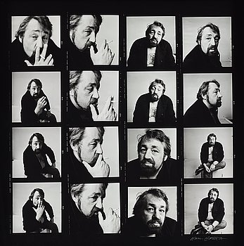 "144. Hans Gedda, ""Cornelis Vreeswijk"", 1984."