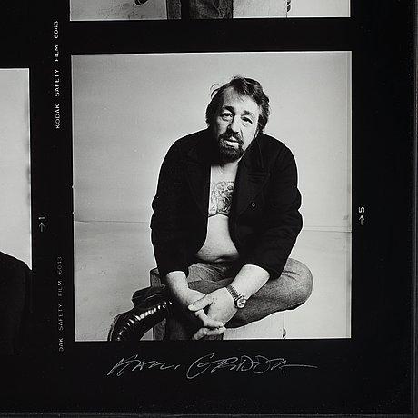 "Hans gedda, ""cornelis vreeswijk"", 1984."
