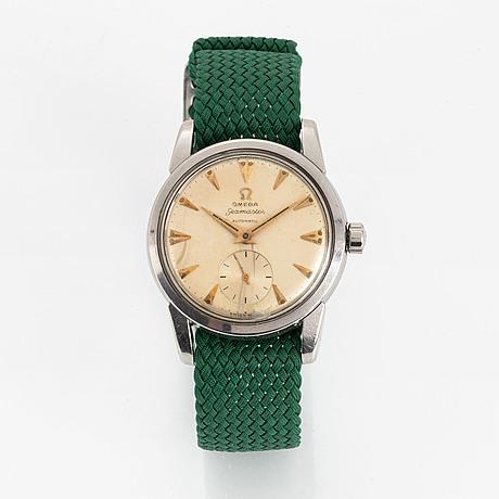 Omega seamaster, wristwatch, 34 mm.