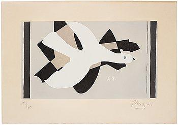 """752. Georges Braque, """"L'oiseau et son ombre III""""."""