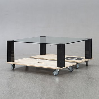 Willy Rizzo, a coffee table for Cidue later part of the 20th century.