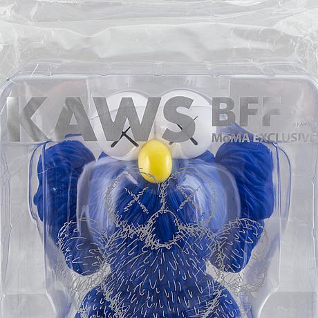 Kaws, vinyl, bff moma edition 2018.