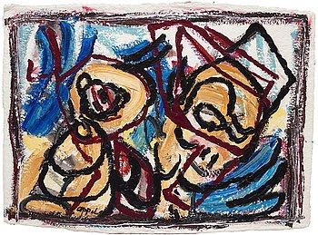 737. Karel Appel, Untitled.