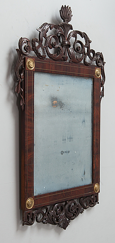 A central europen mirror from late 18th century.