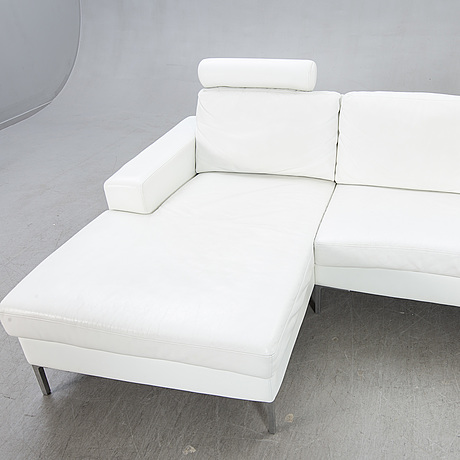 An infini leather sofa for ire möbler 21st century.