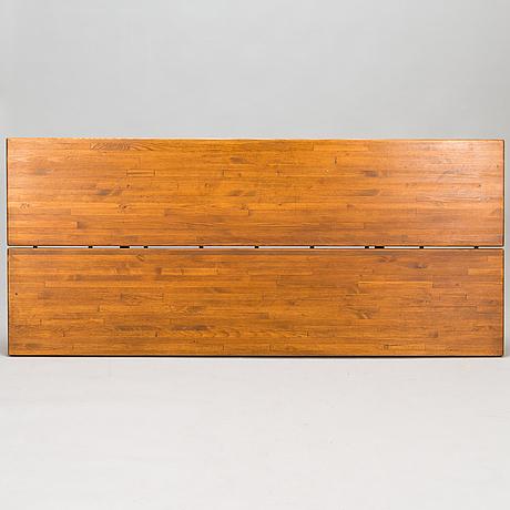 Ilmari tapiovaara, a 1960's 7-piece 'pirkka' dining set for laukaan puu.