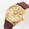 Rolex, oyster perpetual, date, chronometer, wristwatch, 34 mm.
