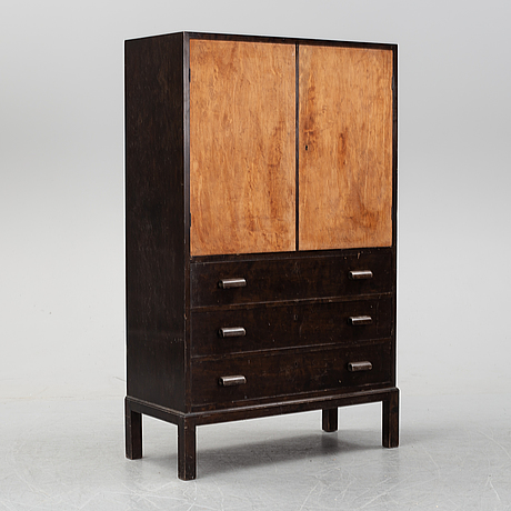 A typenko cabinet with drawers by axel einar hjorth for ab nordiska kompaniet, 1930's.