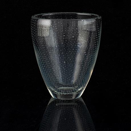Gunnel nyman, glass vase,  nuutajärtvi notsjö.